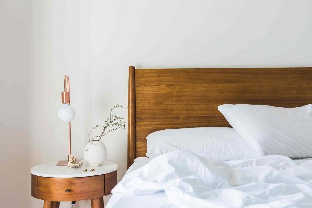 plants help you sleep better white bed with nightstand after good night sleep