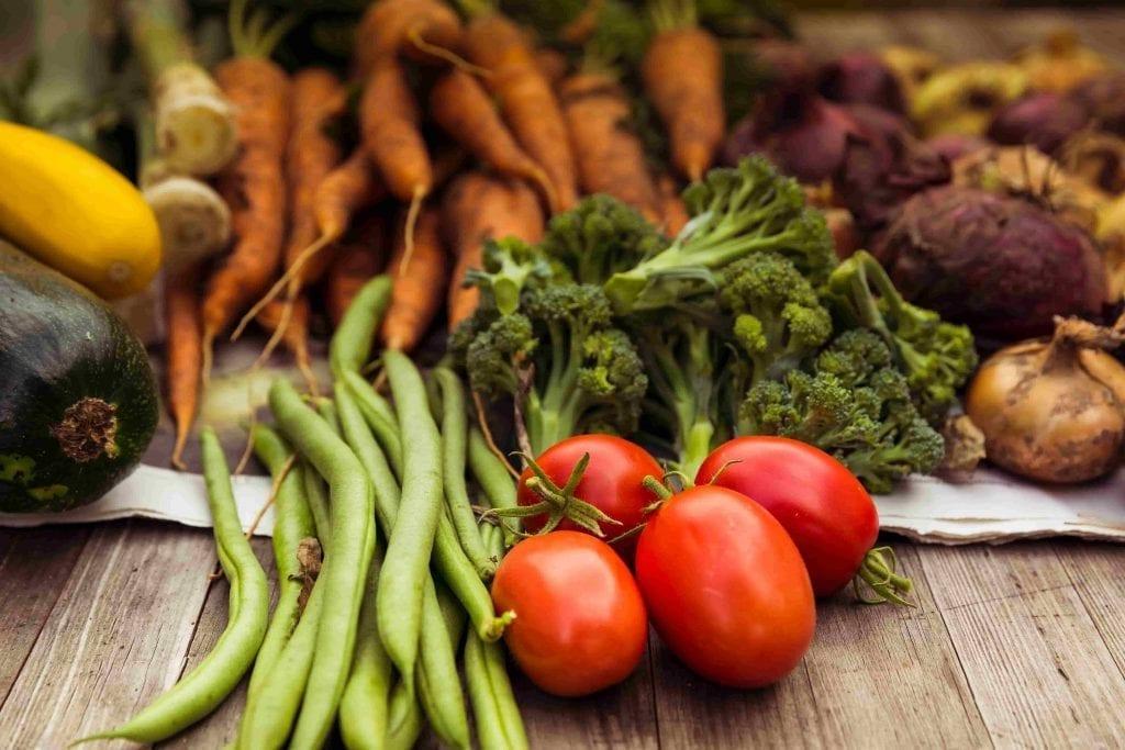 urban gardening vegetable harvest crop-